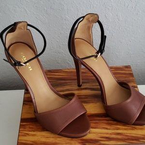 COACH New York high heels